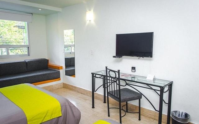 Hotel Arboledas Expo, habitaciones bien equipadas