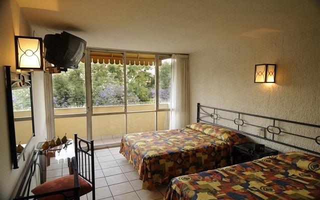 Hotel Arboledas Expo, espacios diseñados para tu descanso