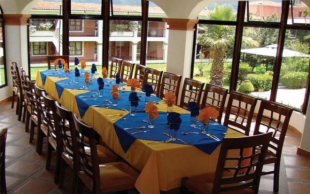 Hotel Arrecife de Coral, escenario ideal para tus alimentos