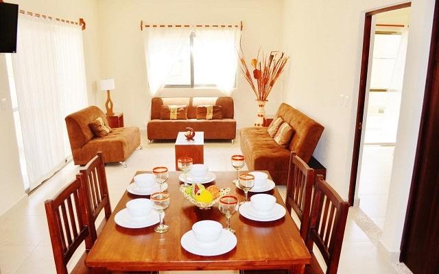 Hotel Arrecifes Suites, cocina equipada