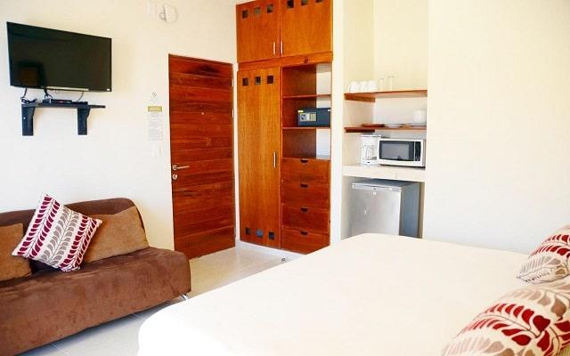 Hotel Arrecifes Suites, habitaciones bien equipadas