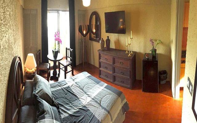 Hotel Aurora Suites, habitaciones con todas las amenidades