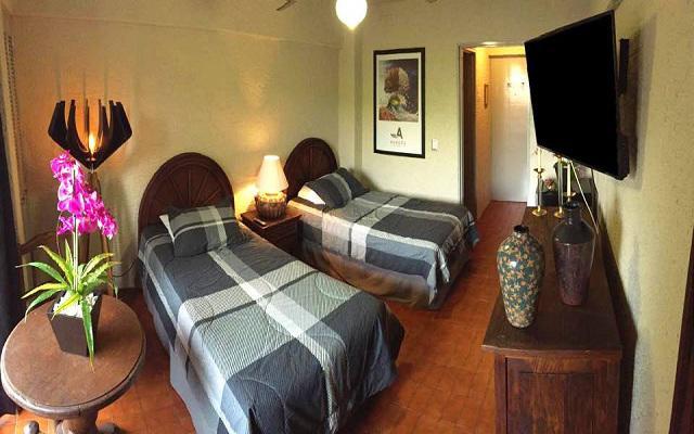 Hotel Aurora Suites, habitaciones cómodas y acogedoras