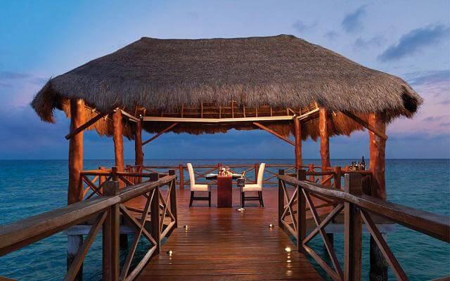 Hotel Azul Beach Resort The Fives Playa del Carmen, cena romántica