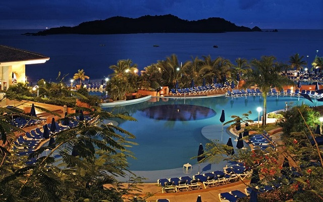 Hotel Azul Ixtapa All Inclusive Beach Resort, linda vista nocturna