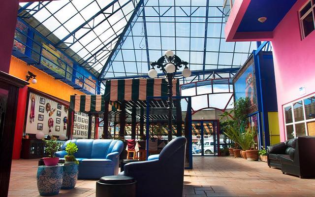 Las pintorescas instalaciones de la propiedad amenizan tu estadía