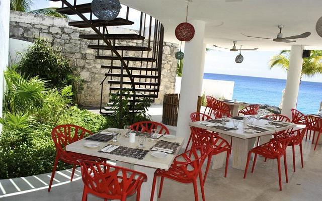 Hotel B Cozumel, gastronomía de calidad