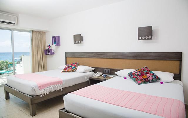Hotel B Cozumel, habitaciones con todas las amenidades