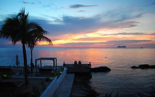 Hotel B Cozumel, románticos espacios