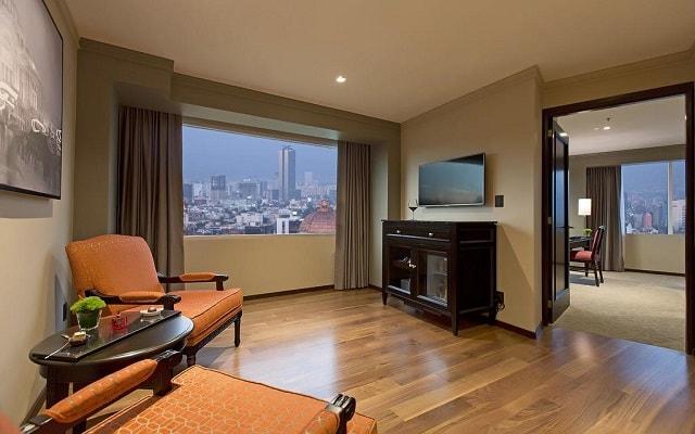 Hotel Barceló México Reforma, espacios de confort