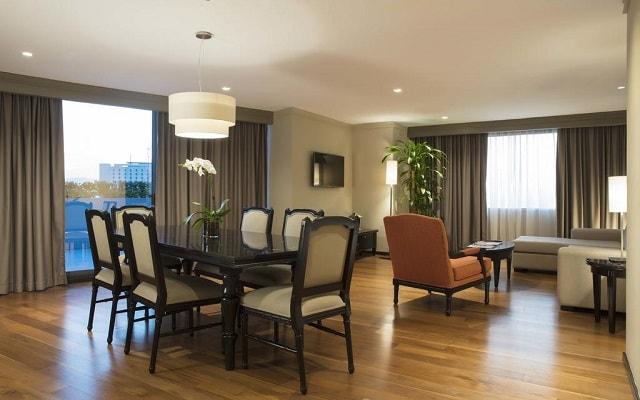 Hotel Barceló México Reforma, habitaciones bien equipadas