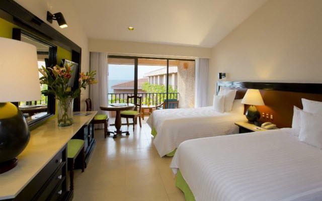 Hotel Barceló Huatulco Beach, amplias y luminosas habitaciones