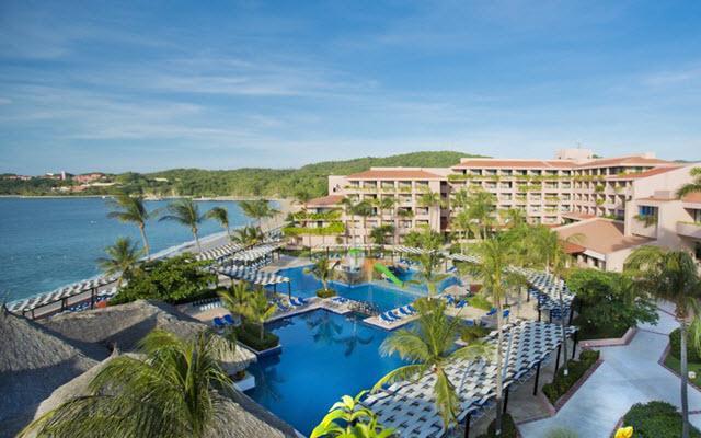 Hotel Barceló Huatulco Beach, vista aérea