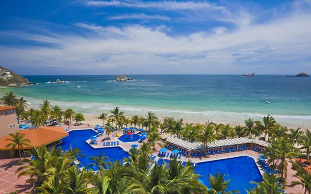 Hotel Barceló Ixtapa Beach, vista panorámica