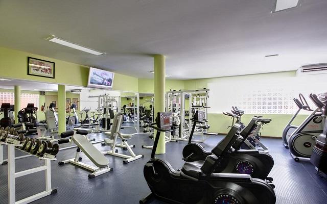 Hotel Barceló Ixtapa Beach, gimnasio bien equipado