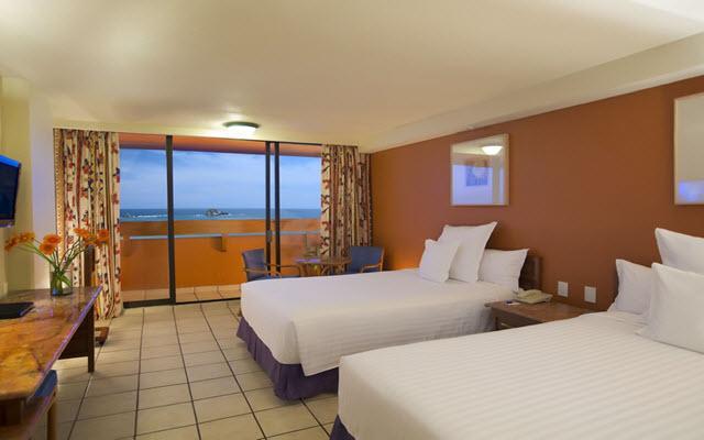 Hotel Barceló Ixtapa Beach, amplias y luminosas habitaciones