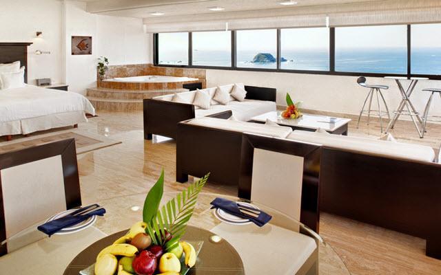 Hotel Barceló Ixtapa Beach, habitaciones bien equipadas