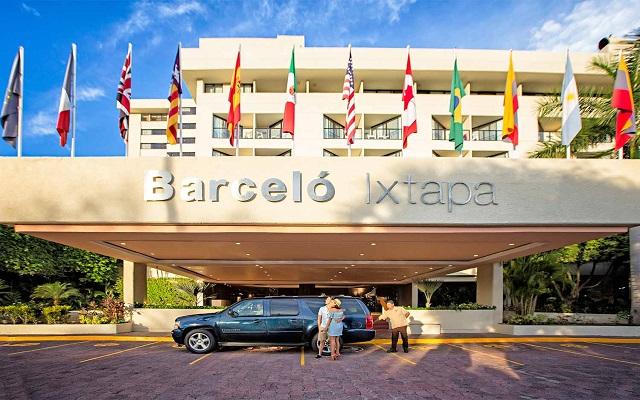 Hotel Barceló Ixtapa Beach, buena ubicación
