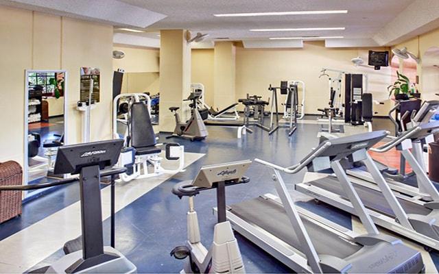 Hotel Barceló Puerto Vallarta, gimnasio para uso exclusivo