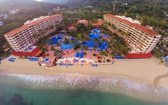 Hotel Barceló Puerto Vallarta, buena ubicación sobre Playa Mismaloya