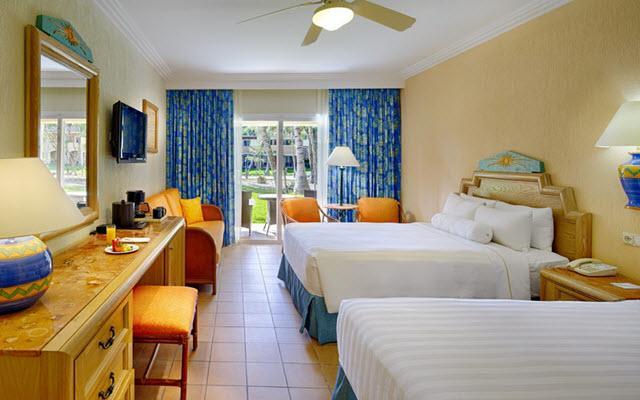 Hotel Barceló Maya Beach, amplias y luminosas habitaciones