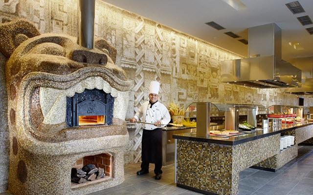 Hotel Barceló Maya Beach, prueba deliciosas pizzas