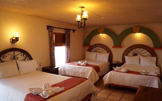 Hotel Barrio Antiguo, habitaciones bien equipadas
