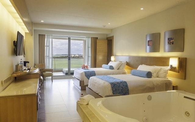Hotel Beach Palace, habitaciones bien equipadas