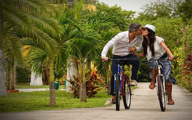 Hotel Bel Air Collection Resort & Spa Xpu-Ha Riviera Maya, disfruta un paseo en bicicleta
