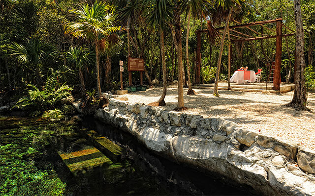 Hotel Bel Air Collection Resort & Spa Xpu-Ha Riviera Maya, escenarios naturales