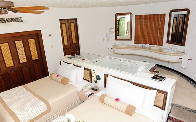 Hotel Bel Air Collection Resort & Spa Xpu-Ha Riviera Maya, habitaciones con todas las amenidades