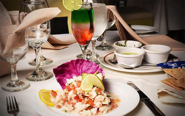 Hotel Bel Air Collection Resort & Spa Xpu-Ha Riviera Maya, variedad de platillos nacionales e internacionales