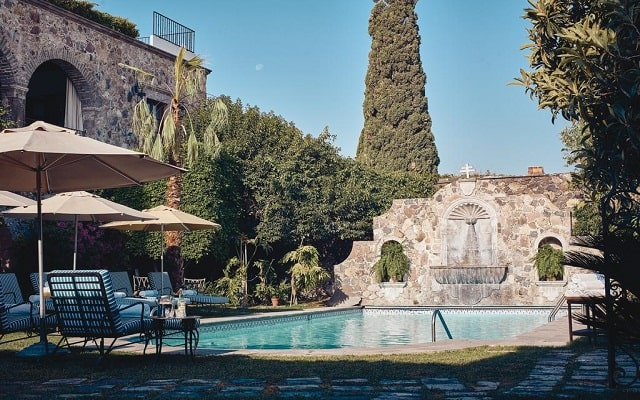 Hotel Belmond Casa de Sierra Nevada, disfruta de su alberca al aire libre