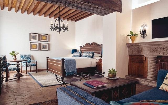 Hotel Belmond Casa de Sierra Nevada, habitaciones bien equipadas