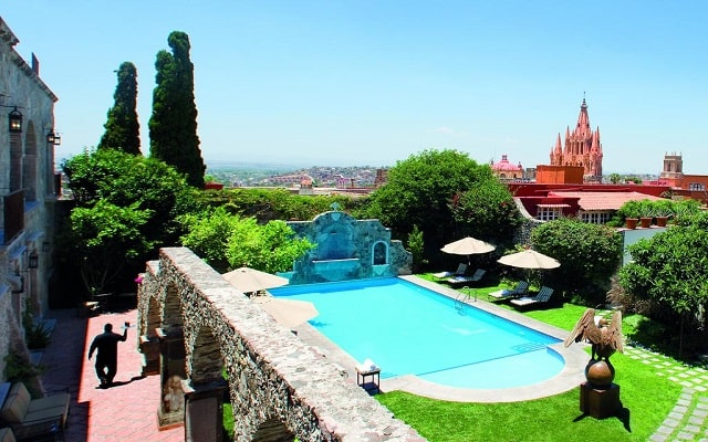 Hotel Belmond Casa de Sierra Nevada, bonitos jardines