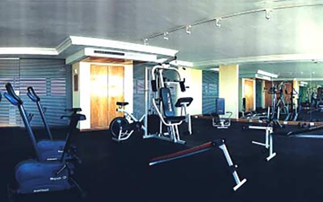 Hotel Benidorm, gimnasio para uso exclusivo