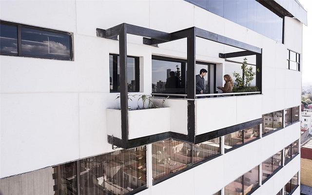 Hotel Benidorm, terraza para fumadores