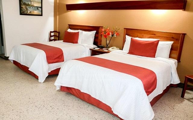 Hotel Best Western Riviera Tuxpan, habitaciones con todas las amenidades