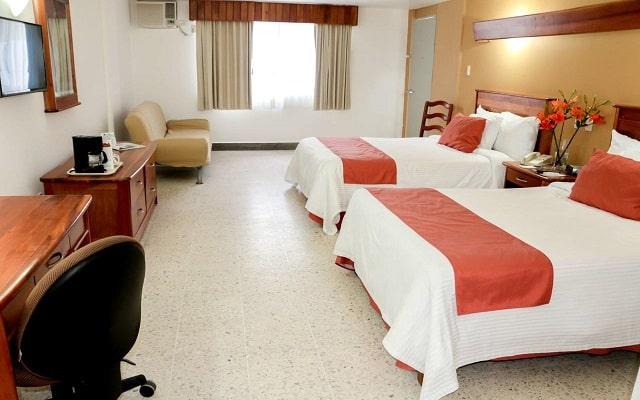 Hotel Best Western Riviera Tuxpan, habitaciones bien equipadas