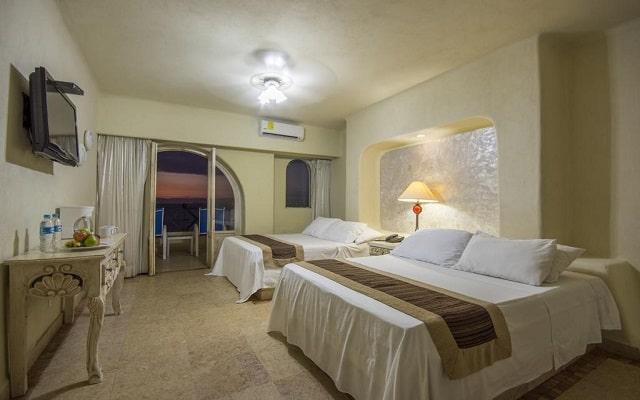Hotel Blue Chairs Resort By The Sea, cómodas habitaciones
