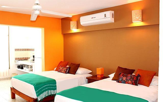 Hotel Boutique Catedral Vallarta, amplias y luminosas habitaciones