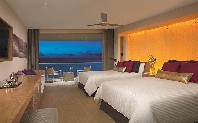 Hotel Breathless Riviera Cancún Resort and Spa, habitaciones con todas las amenidades