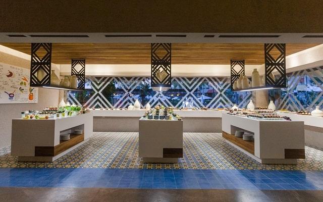 Hotel Buganvilias Resort de Puerto Vallarta, ricos y variados menús