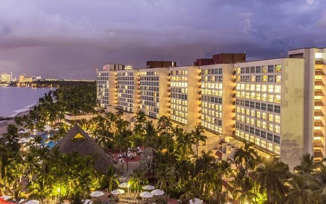 Hotel Buganvilias Resort de Puerto Vallarta, vista aérea
