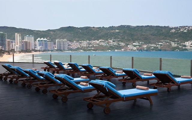 Hotel Calinda Beach Acapulco, solárium