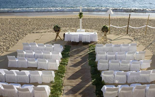 Hotel Calinda Beach Acapulco, facilidades nupciales