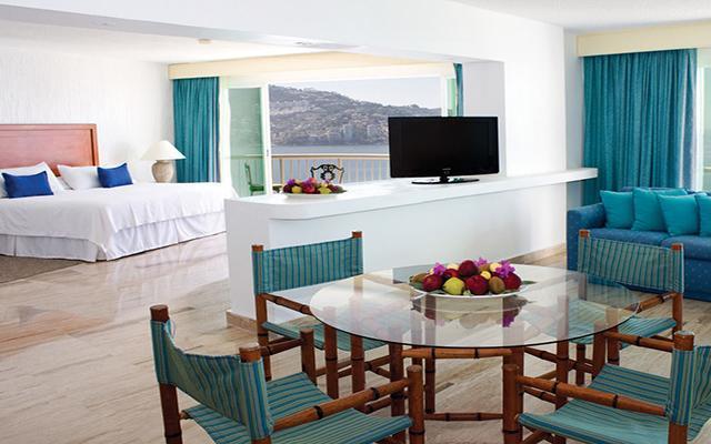 Hotel Calinda Beach Acapulco, habitaciones con todas las amenidades