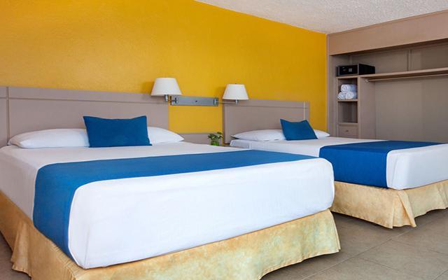 Hotel Calinda Beach Acapulco, habitaciones cómodas y acogedoras