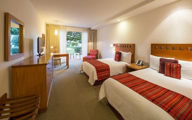 Hotel Camino Real Guadalajara, amplias y luminosas habitaciones