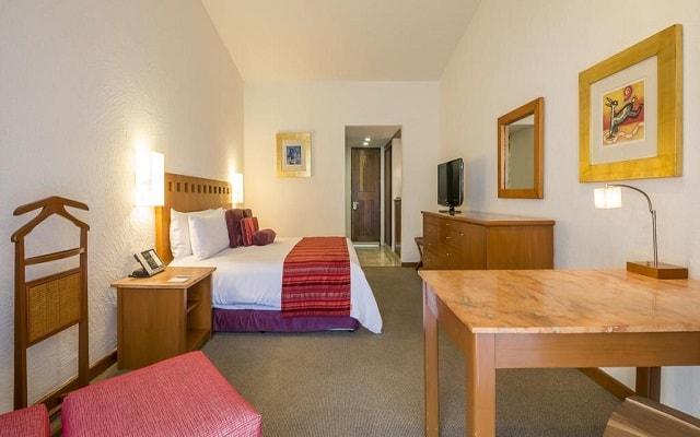Hotel Camino Real Guadalajara, habitaciones bien equipadas